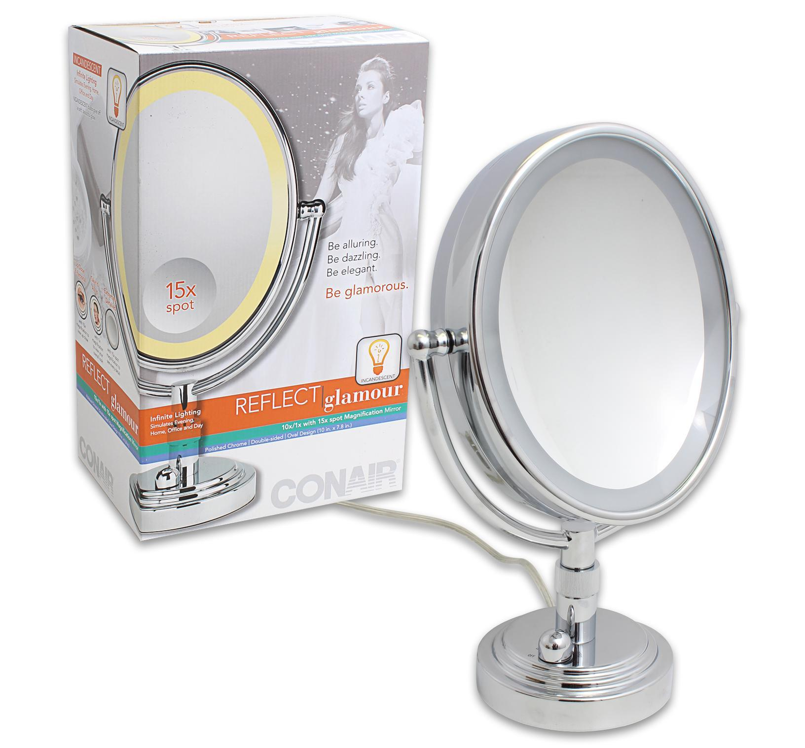 Lighted Vanity Mirror Conair : Conair Vanity Mirror 10x7.8